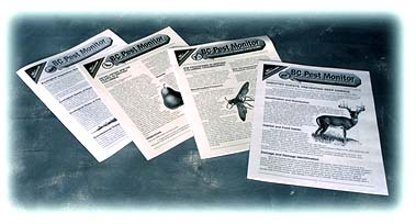 Pest Monitor newsletters